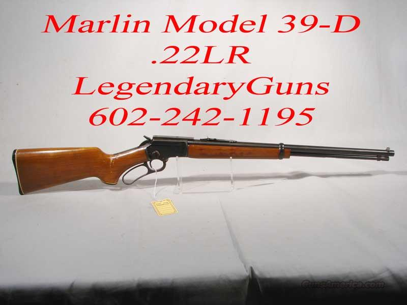 Marlin 39 D .22LR  Used  Lever action  Guns > Rifles > Marlin Rifles > Modern > Lever Action
