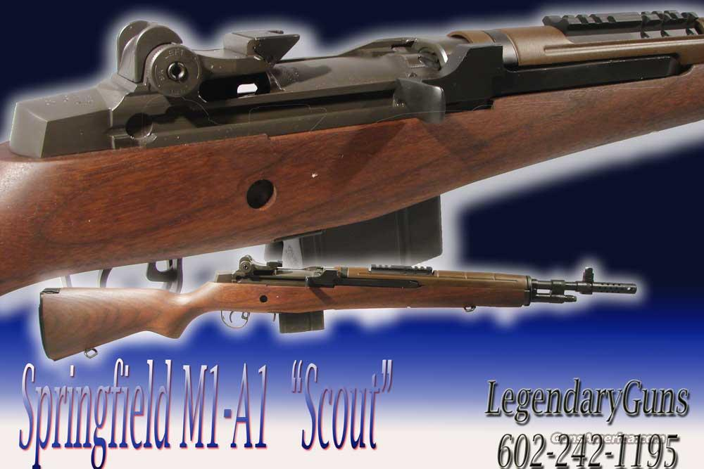 Springfield M1A1 SCOUT , New in the box  Guns > Rifles > Springfield Armory Rifles > M1A/M14