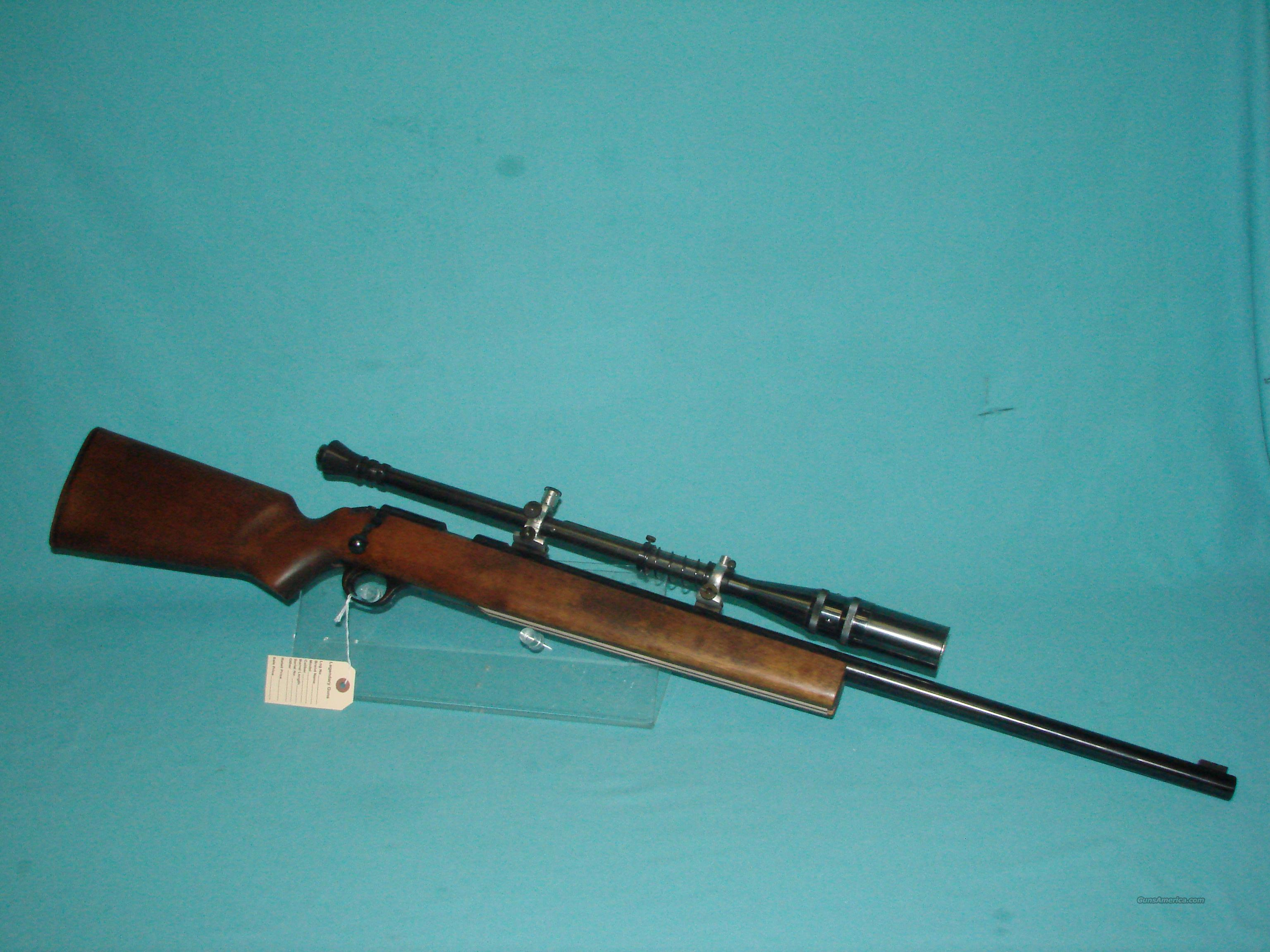 H&R M12 w/Unertl Scope  Guns > Rifles > Harrington & Richardson Rifles