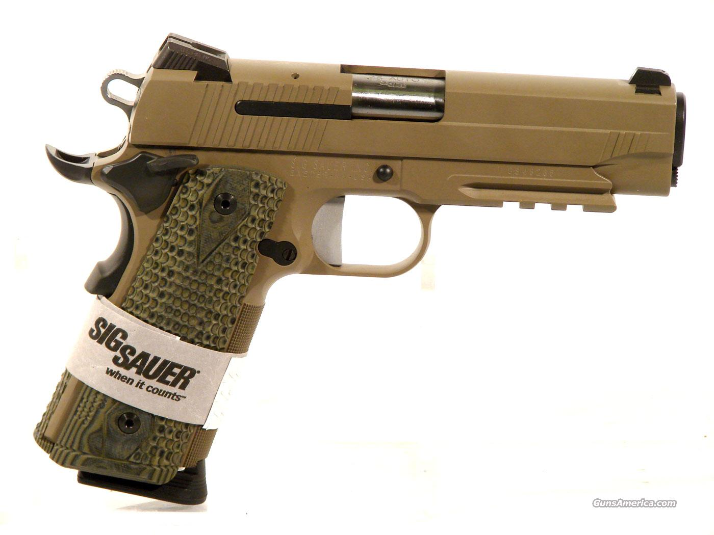 Sig 1911 .45 acp with rail,  Guns > Pistols > Sig - Sauer/Sigarms Pistols > 1911