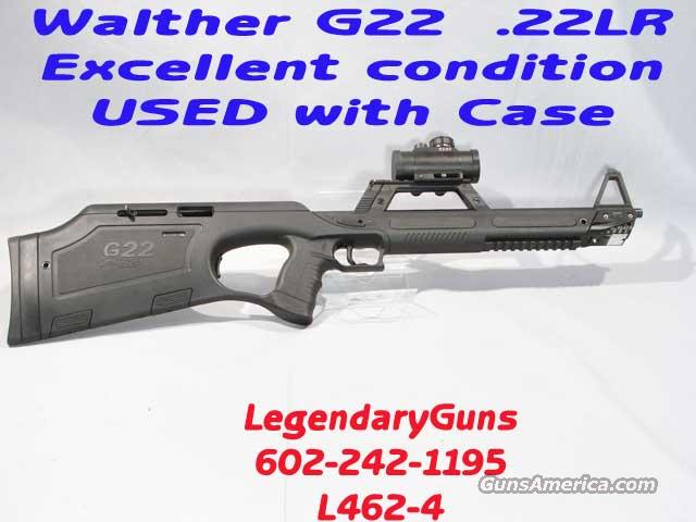 Walther G-22 Semi Auto Rifle, .22LR  Guns > Rifles > Walther Rifles