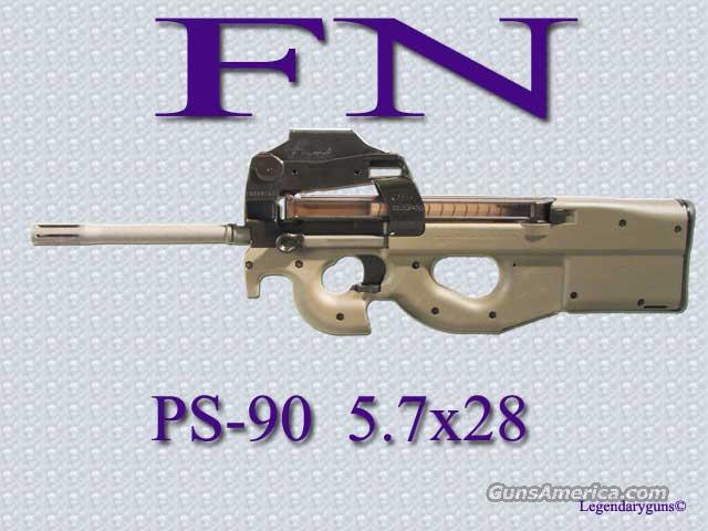 Ps90 Carbine rifle, 5.7x28  Guns > Rifles > FNH - Fabrique Nationale (FN) Rifles > Semi-auto > PS90