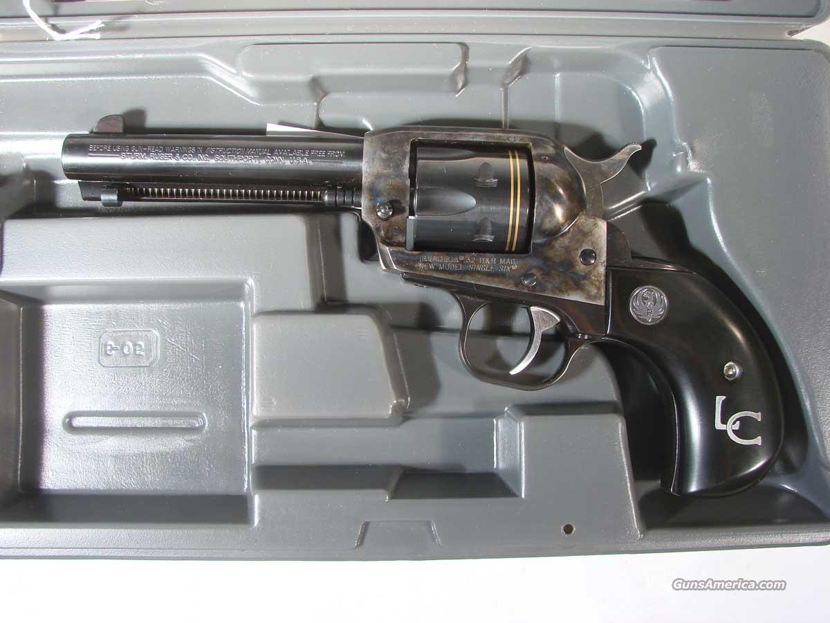 "Ruger Single Six .32H&R ""Last Cowboy""  Guns > Pistols > Ruger Single Action Revolvers > Single Six Type"