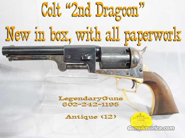 Colt 2nd Dragoon  Black Powder Pistol  Guns > Pistols > Colt Percussion Revolver - Modern