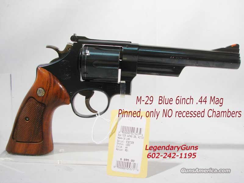S&W Model 29-(0) Blue Pinned Not Recessed  Guns > Pistols > Smith & Wesson Revolvers > Model 629