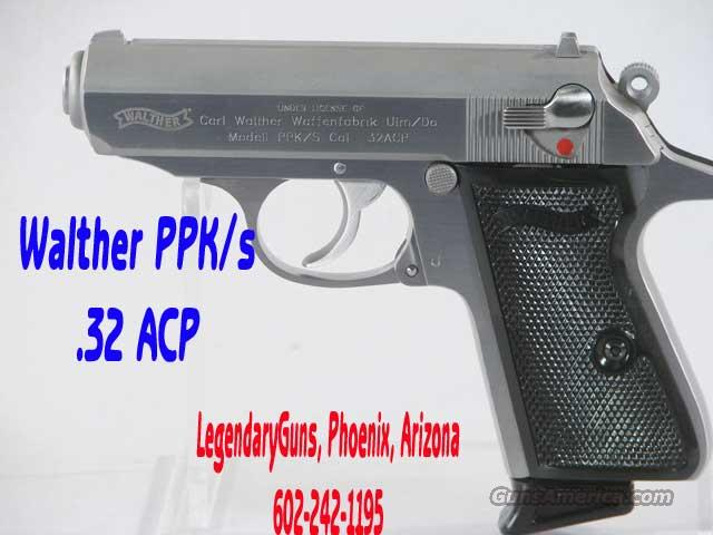 Walther PPk .32  Factory Demo  Guns > Pistols > Walther Pistols > Post WWII > PP Series