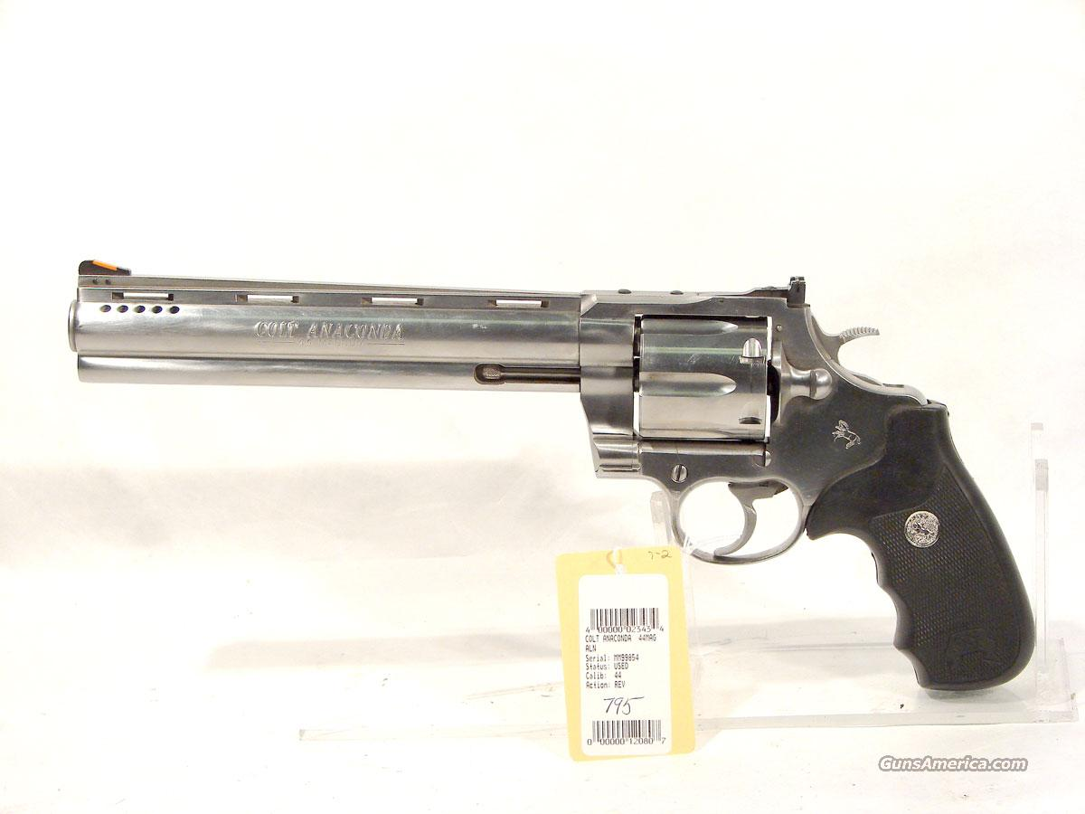 "Colt ""Anaconda"" .44 Mag. 8 inch stainless,  Guns > Pistols > Colt Double Action Revolvers- Modern"