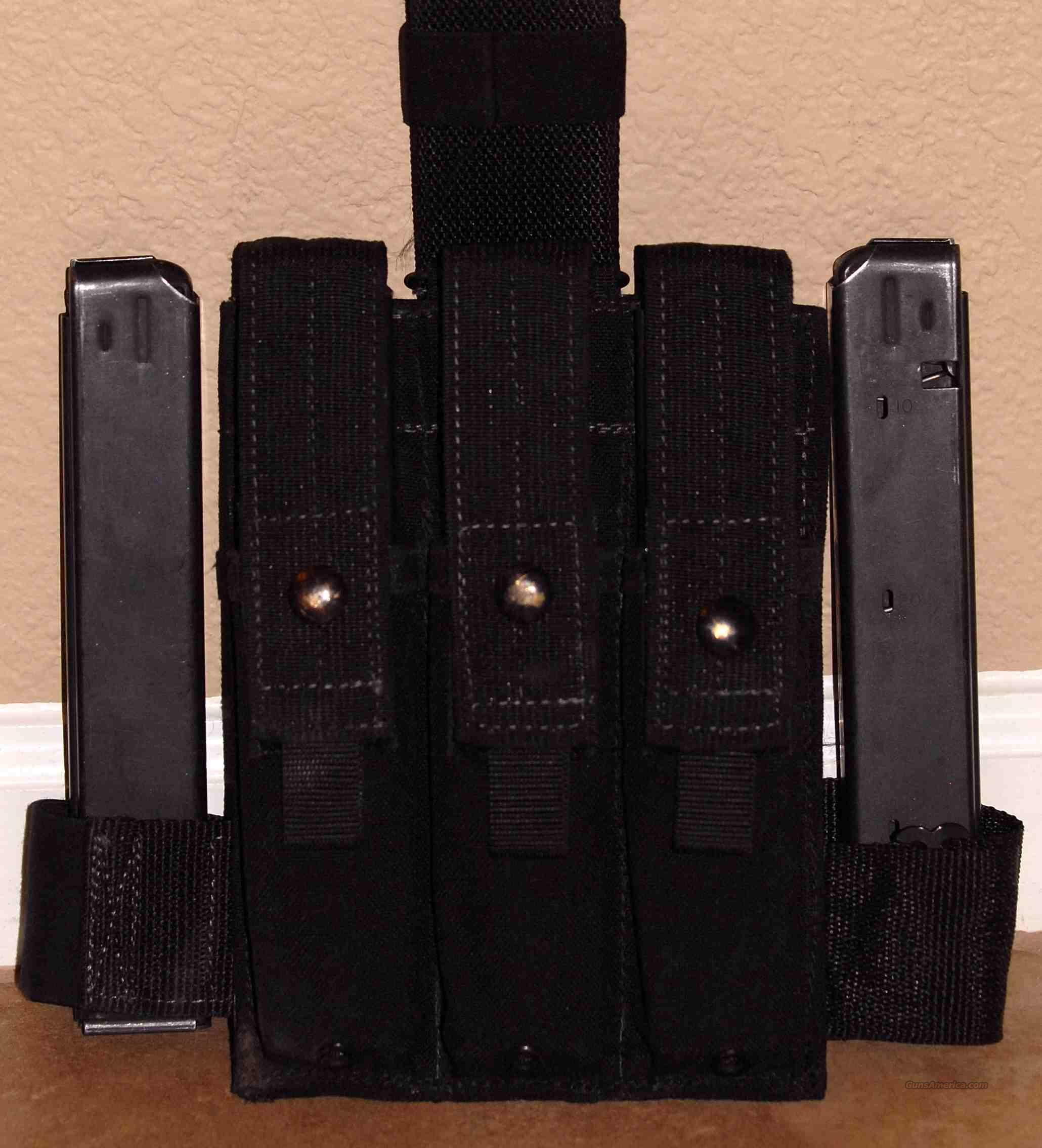 5 Colt SMG or 6450 9mm Mags + Eagle Drop Leg Holster  Non-Guns > Magazines & Clips > Subgun Magazines > Clips > Other