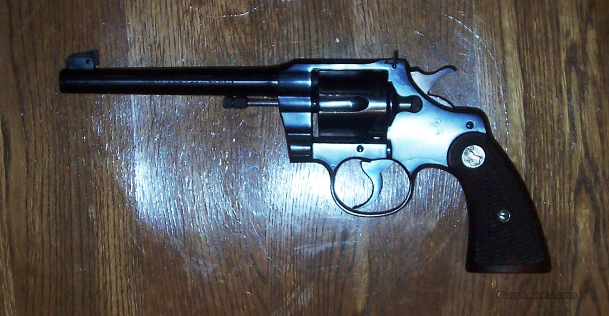 Colt Officers Model Target .22 Long Rifle Revolver - 1940   Guns > Pistols > Colt Double Action Revolvers- Pre-1945