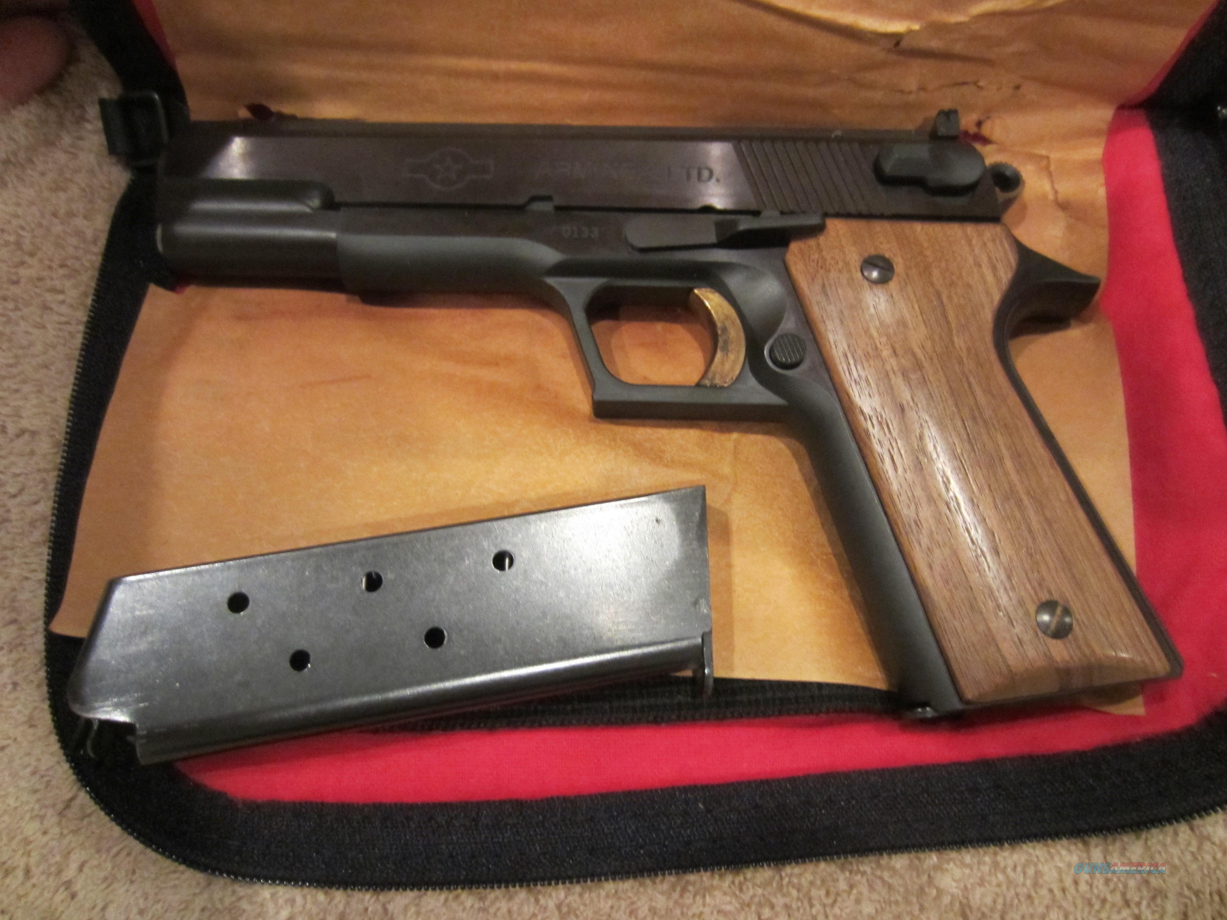 Rare Arminex Trifire 1911 W Presentation Case For Sale