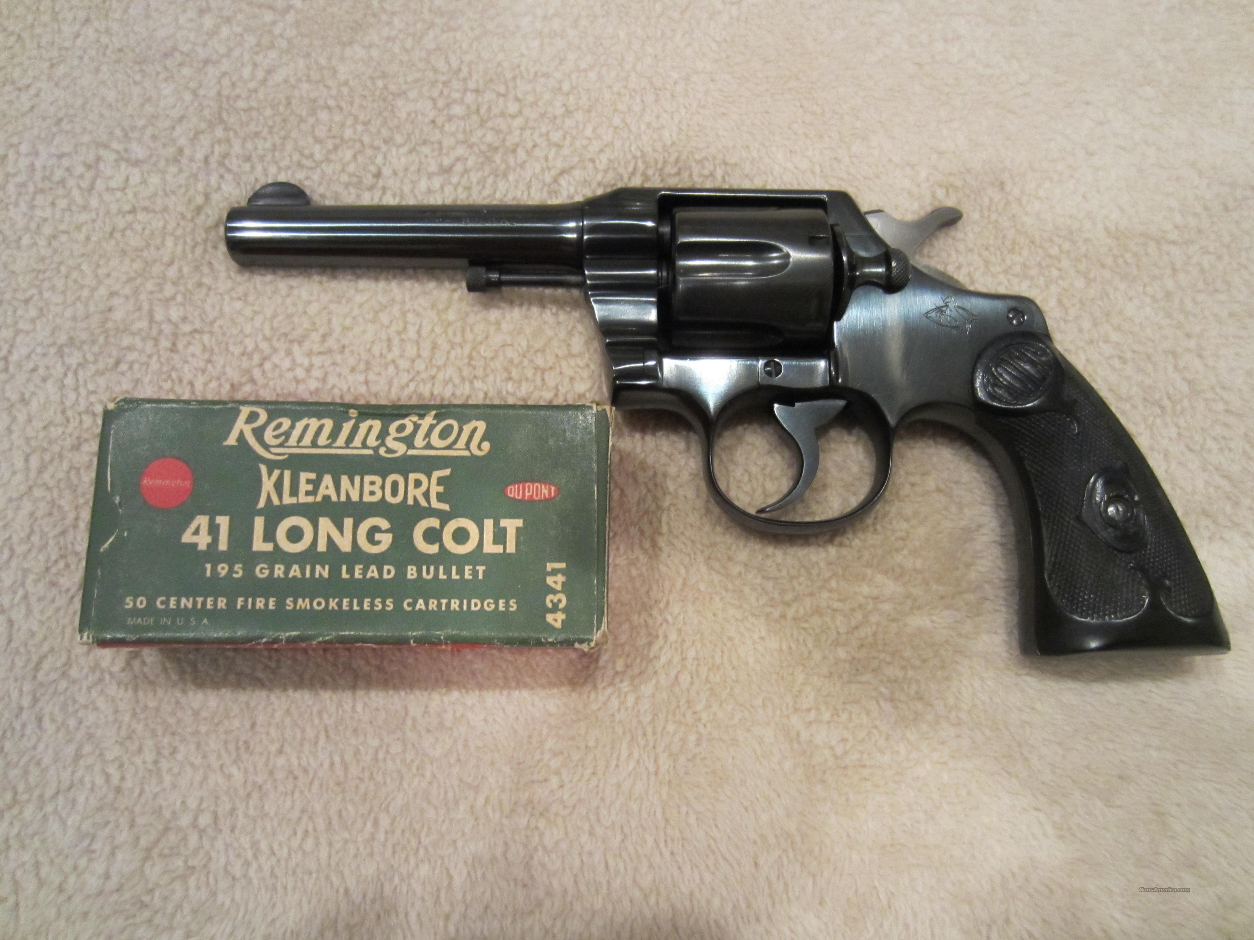 Colt Army Special in .41 Long Colt  Guns > Pistols > Colt Double Action Revolvers- Pre-1945