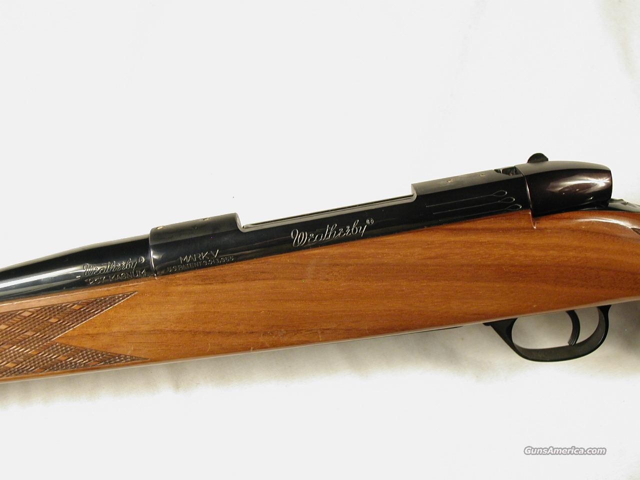 W. GERMANY WEATHERBY 257 WBY MAG   Guns > Rifles > Weatherby Rifles > Sporting