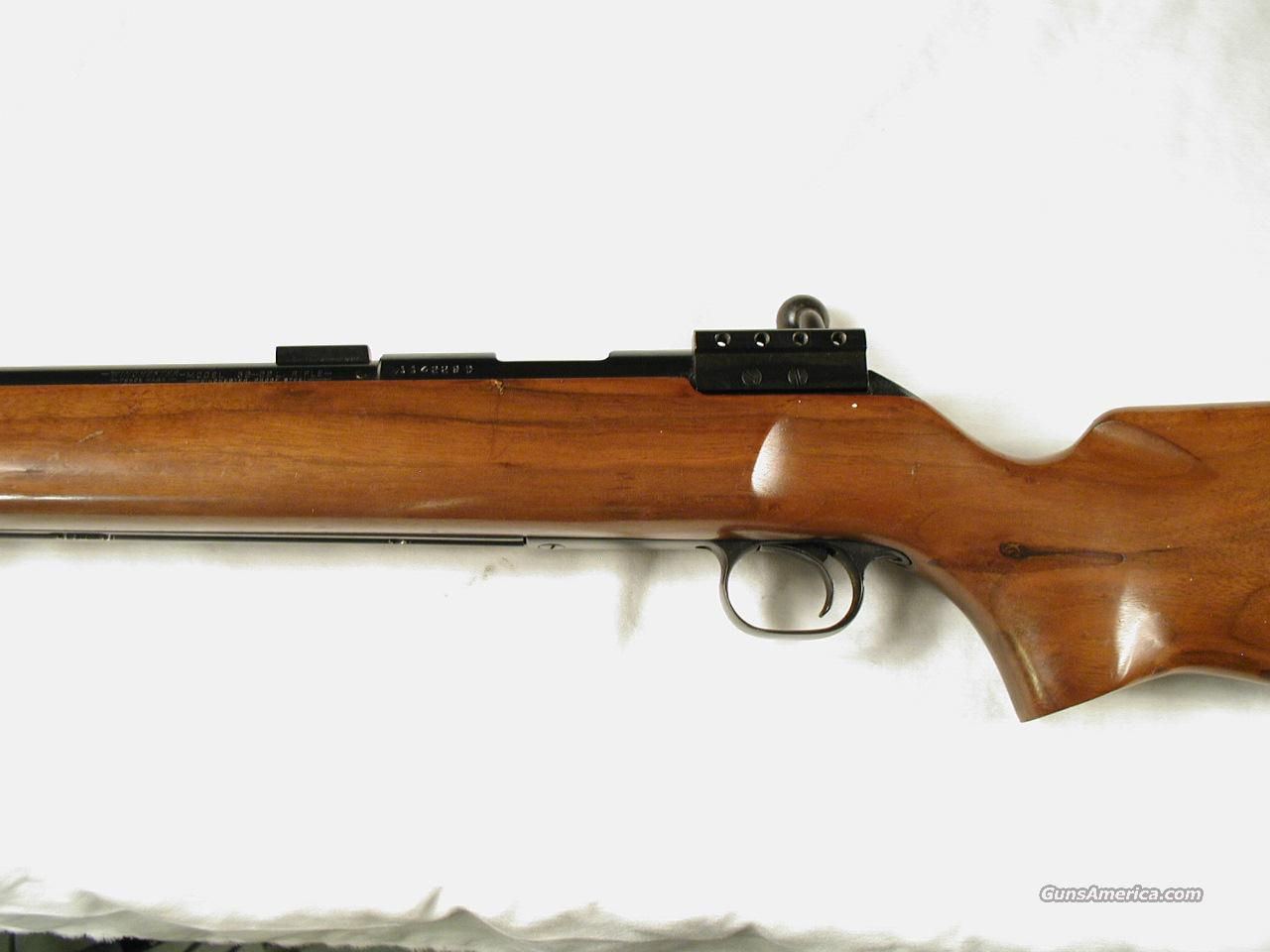 WINCHESTER M 52D TARGET  Guns > Rifles > Winchester Rifles - Modern Bolt/Auto/Single > Other Bolt Action