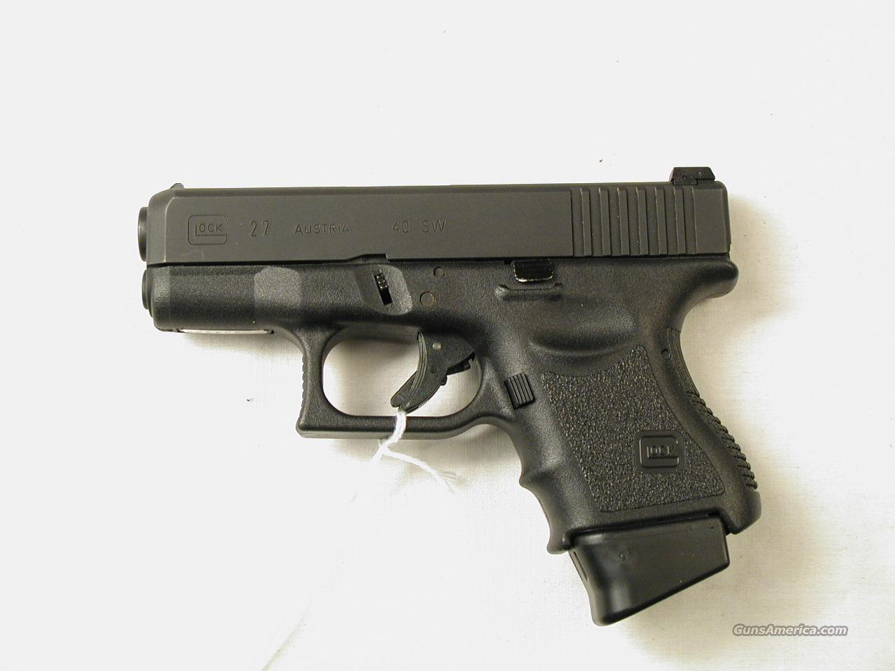 GLOCK M 27  Guns > Pistols > Glock Pistols > 26/27