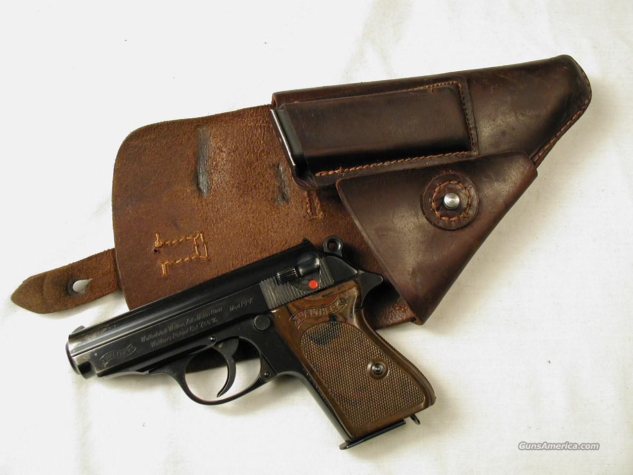 WALTHER PRE WAR PPK  Guns > Pistols > Walther Pistols > Pre-1945 > PPK