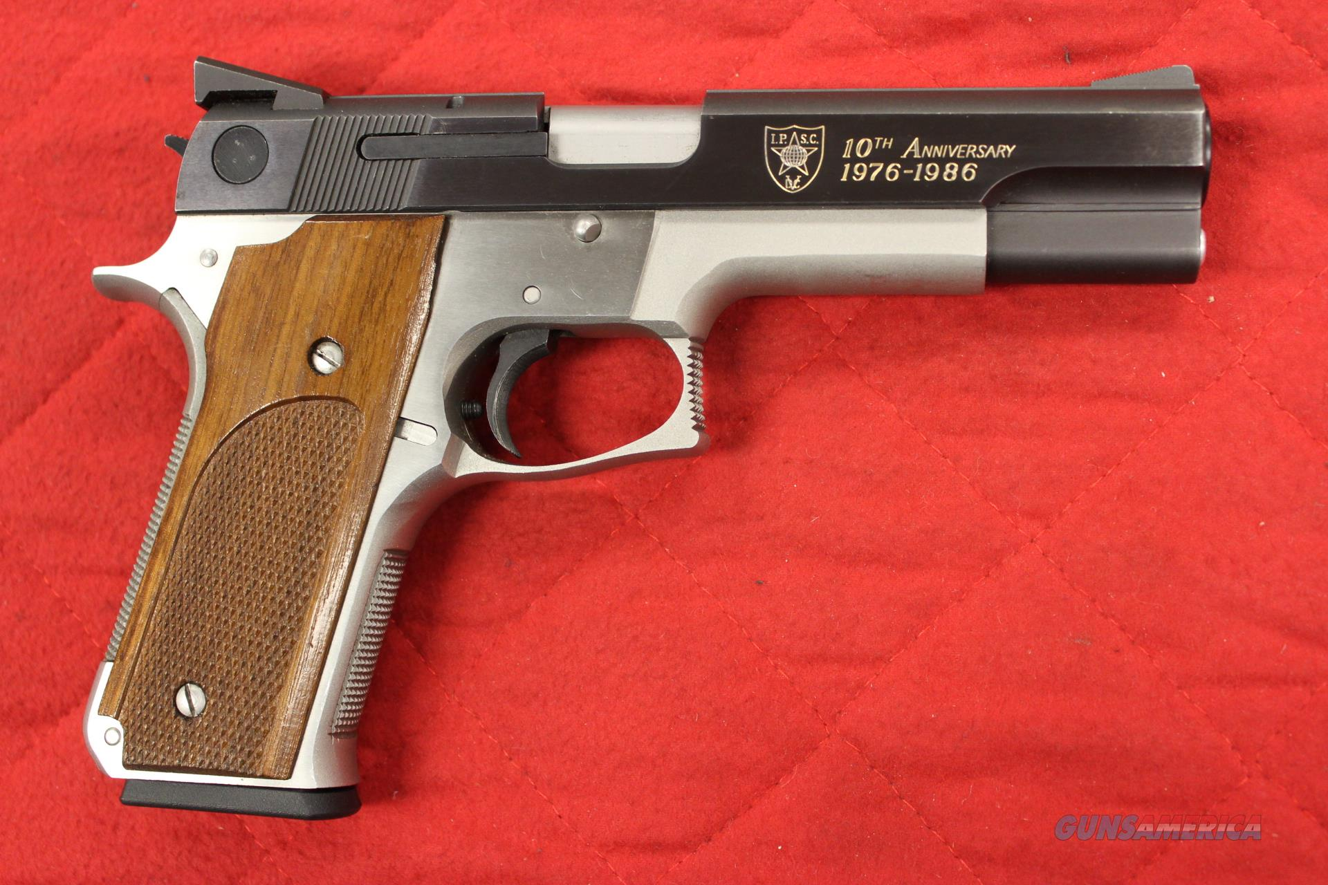 Smith and Wesson Model 745 IPSC 10th Anniversary 45 acp  Guns > Pistols > Smith & Wesson Pistols - Autos > Steel Frame