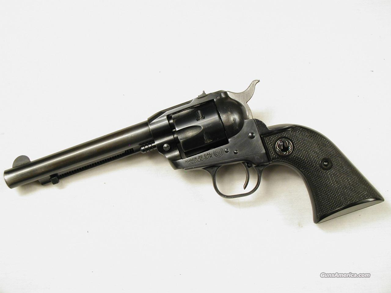 RUGER SINGLE SIX FLAT GATE  Guns > Pistols > Ruger Single Action Revolvers > Single Six Type