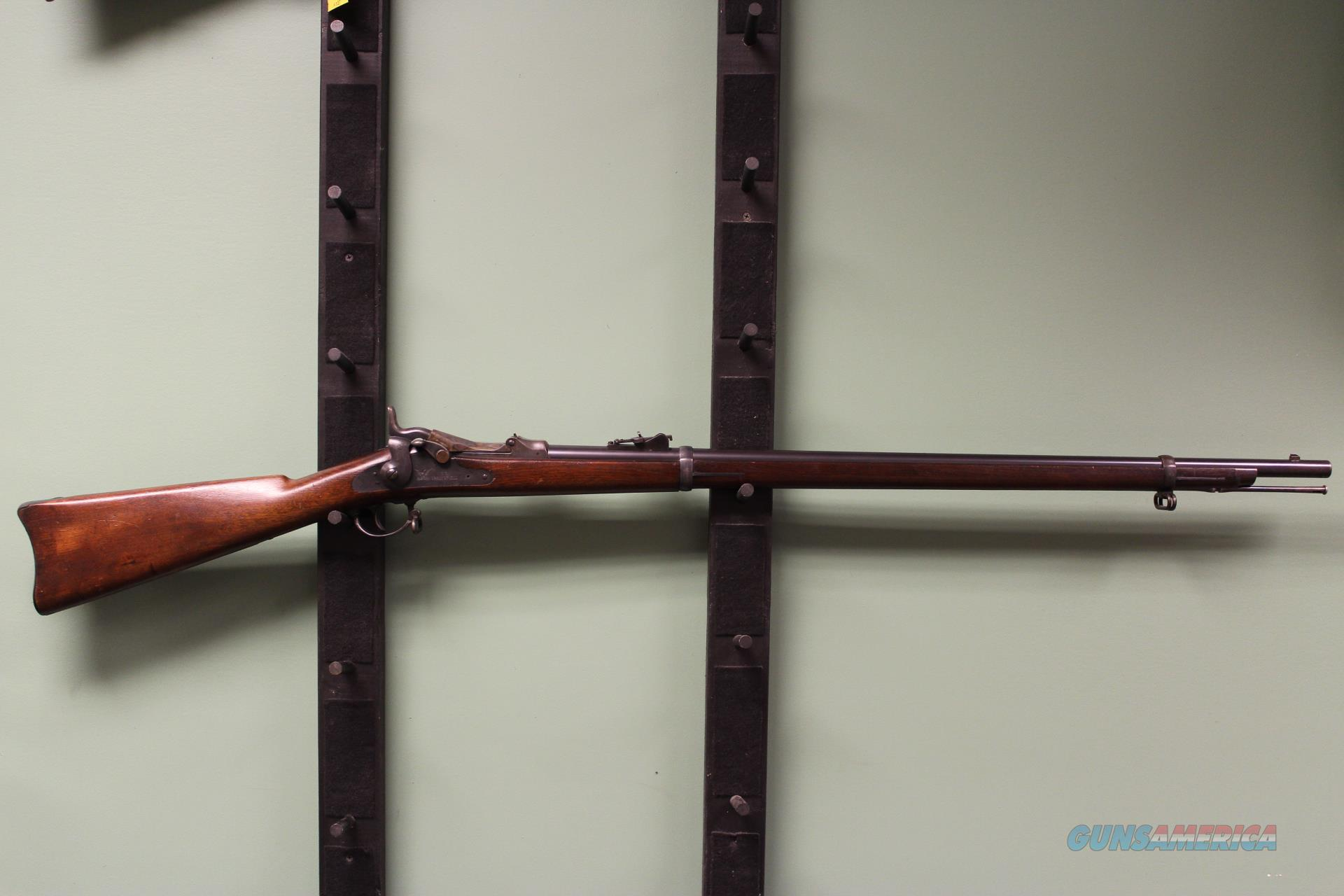 Springfield Armory model 1873 Trapdoor Rifle  Guns > Rifles > Springfield Armory Rifles > M1A/M14