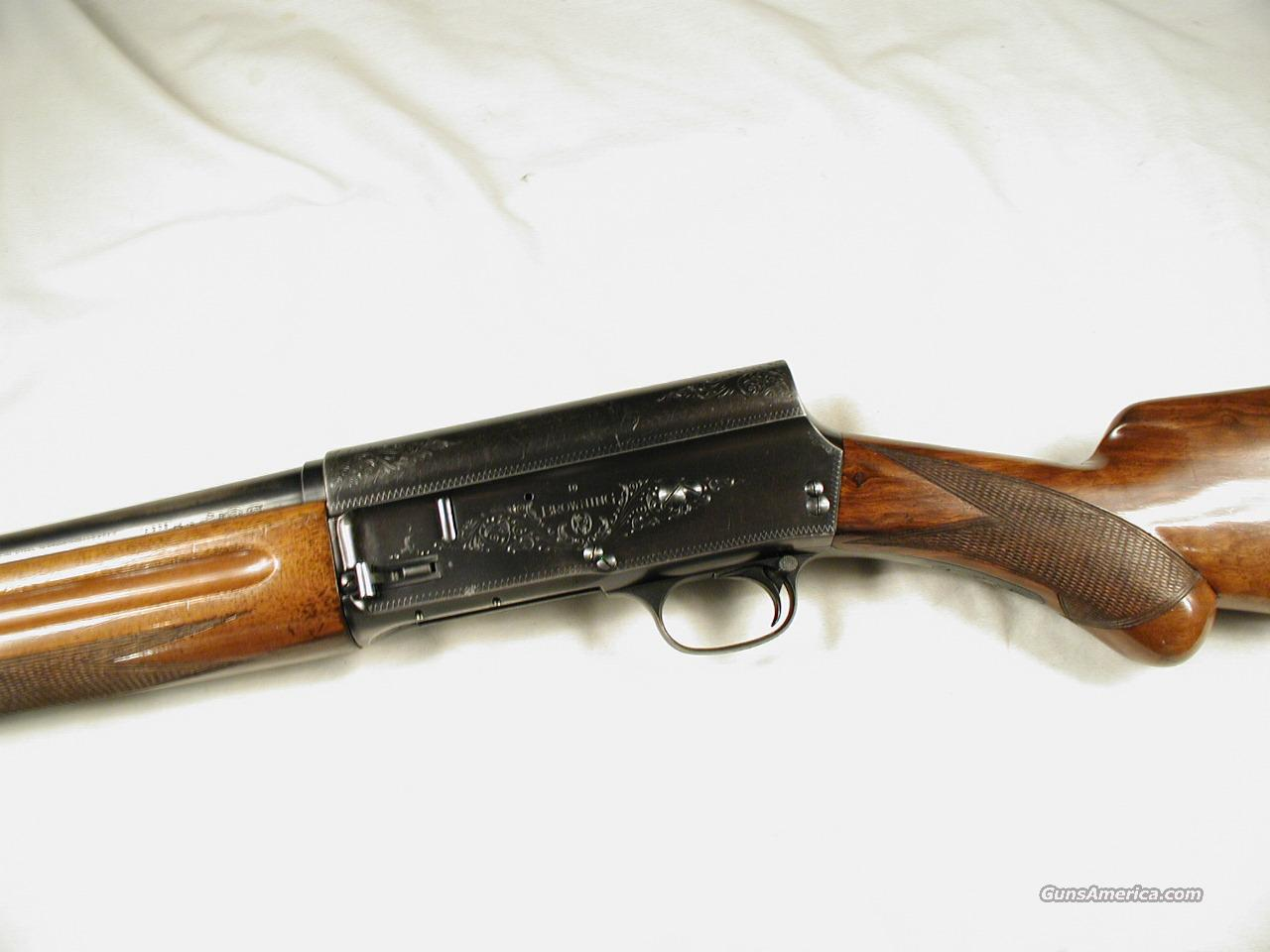 Belgium Browning Made In 1954 16 Gauge A5 For Sale