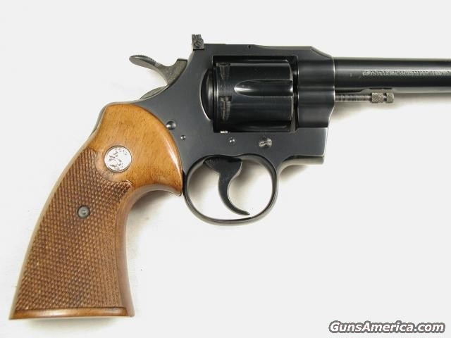 OFFICERS MATCH 22LR  Guns > Pistols > Colt Double Action Revolvers- Modern