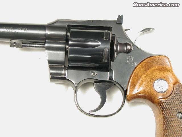 OFFICERS MATCH 38 SPECIAL  Guns > Pistols > Colt Double Action Revolvers- Modern