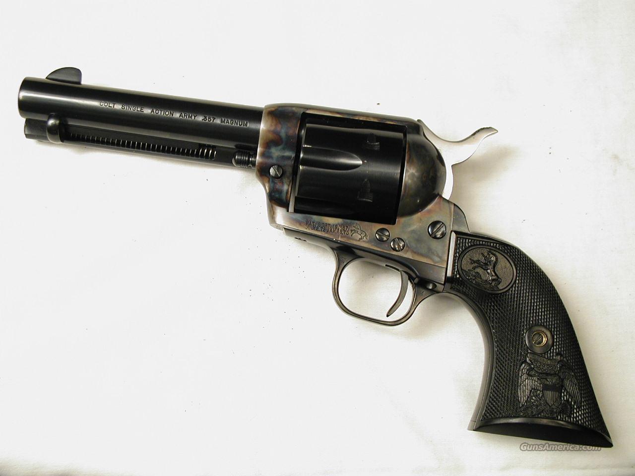 .357 SAA   Guns > Pistols > Colt Single Action Revolvers - 3rd Gen.