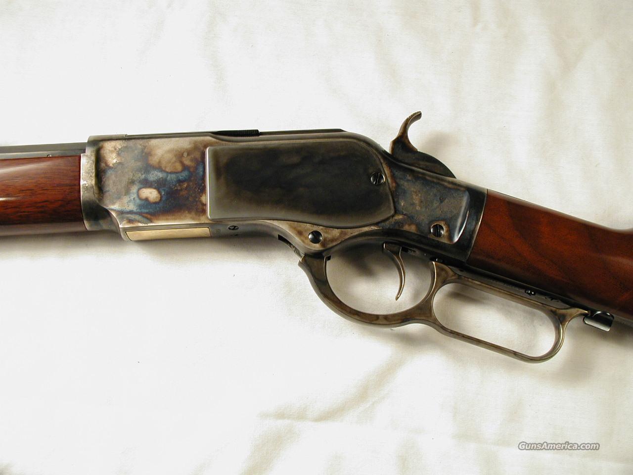 1873 SHORT RIFLE  Guns > Rifles > Uberti Rifles > Lever Action
