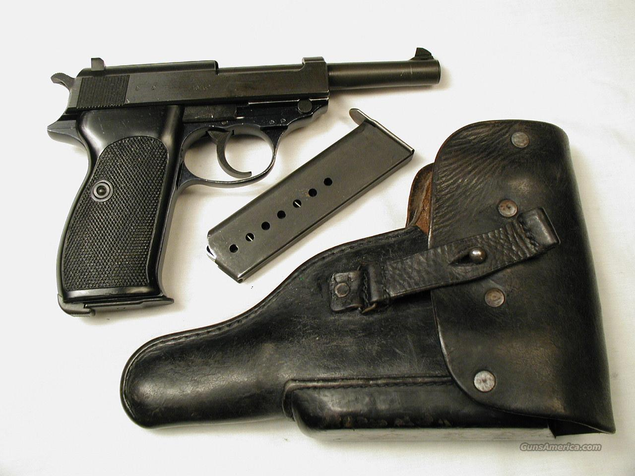 P 38  Guns > Pistols > Walther Pistols > Post WWII > Large Frame Autos