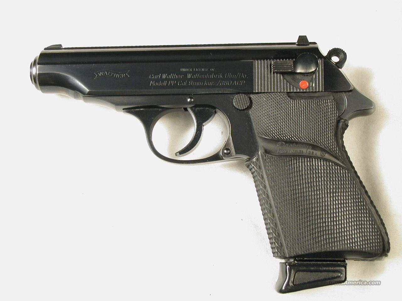 WALTHER PP 380  Guns > Pistols > Walther Pistols > Post WWII > PP Series