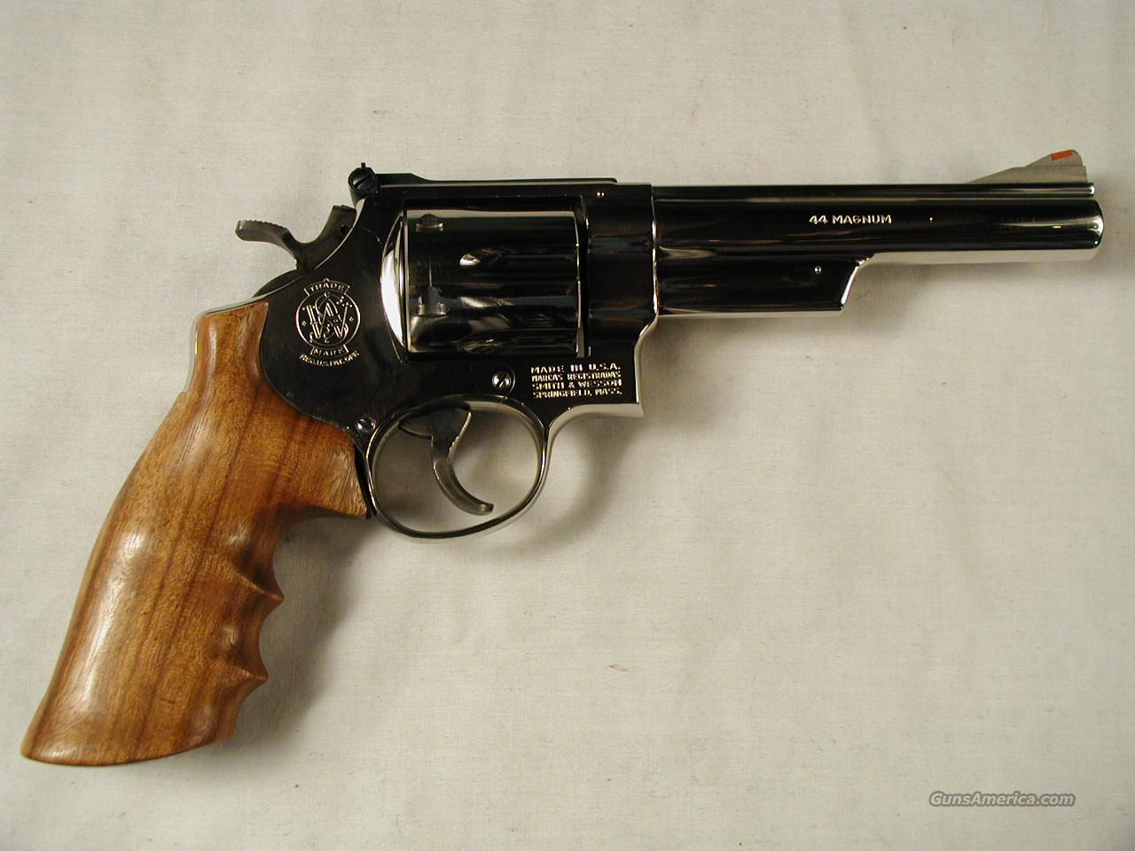 NICKLE S&W 29  Guns > Pistols > Smith & Wesson Revolvers > Full Frame Revolver