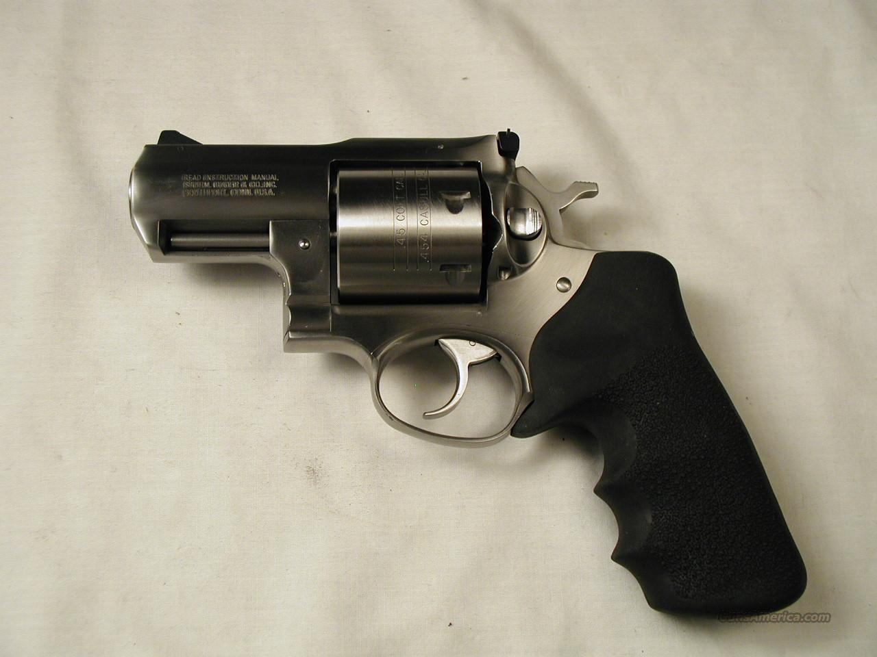 454 ALASKAN  Guns > Pistols > Ruger Double Action Revolver > Redhawk Type