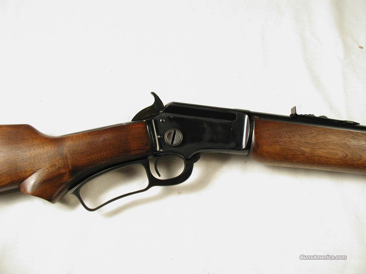MARLIN 39  Guns > Rifles > Marlin Rifles > Modern > Lever Action