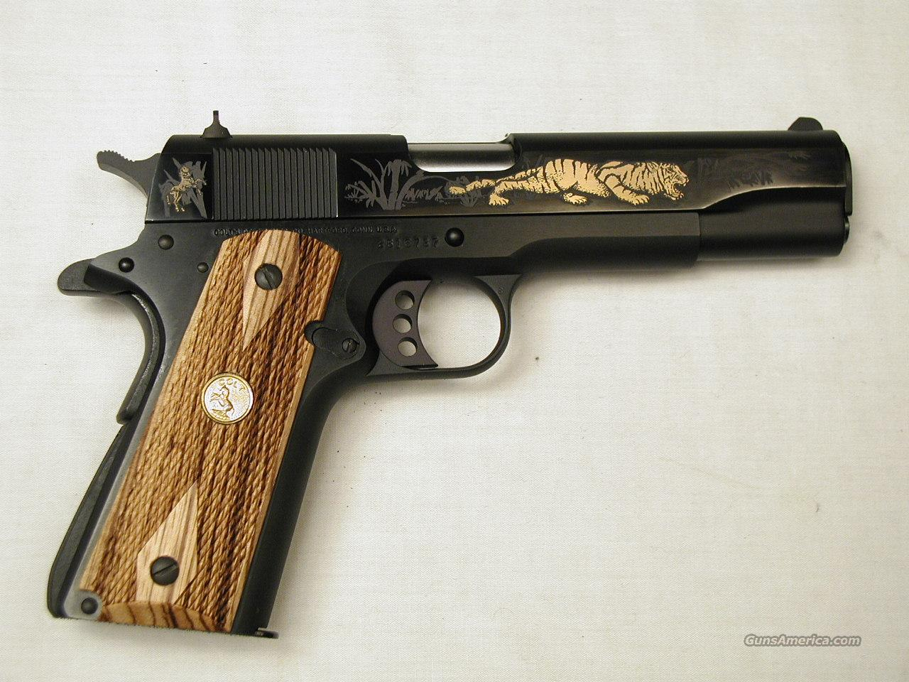LIMITED EDITION TIGER  Guns > Pistols > Colt Automatic Pistols (1911 & Var)