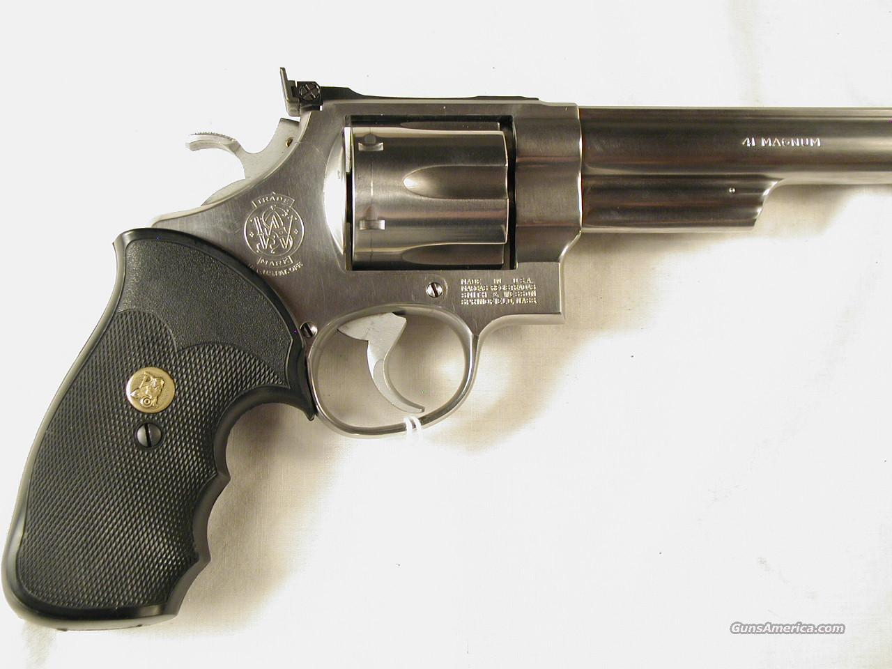 41 MAGNUM CUSTOM 657  Guns > Pistols > Smith & Wesson Revolvers > Full Frame Revolver