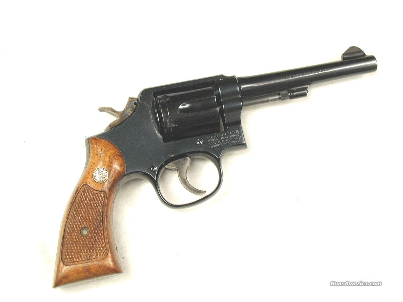 SMITH AND WESSON M10  Guns > Pistols > Smith & Wesson Revolvers > Full Frame Revolver