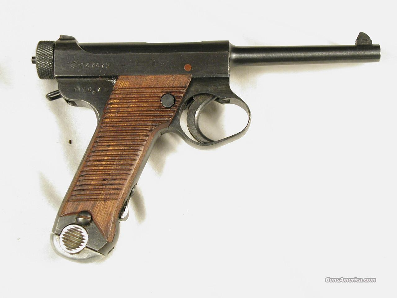 NAMBU TYPE 14 DATE CODE JULY 1944  Guns > Pistols > Military Misc. Pistols Non-US