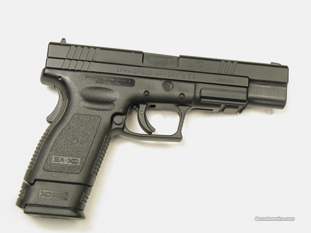 SPRINGFIELD ARMORY TACTICAL XD 45  Guns > Pistols > Springfield Armory Pistols > XD (eXtreme Duty)