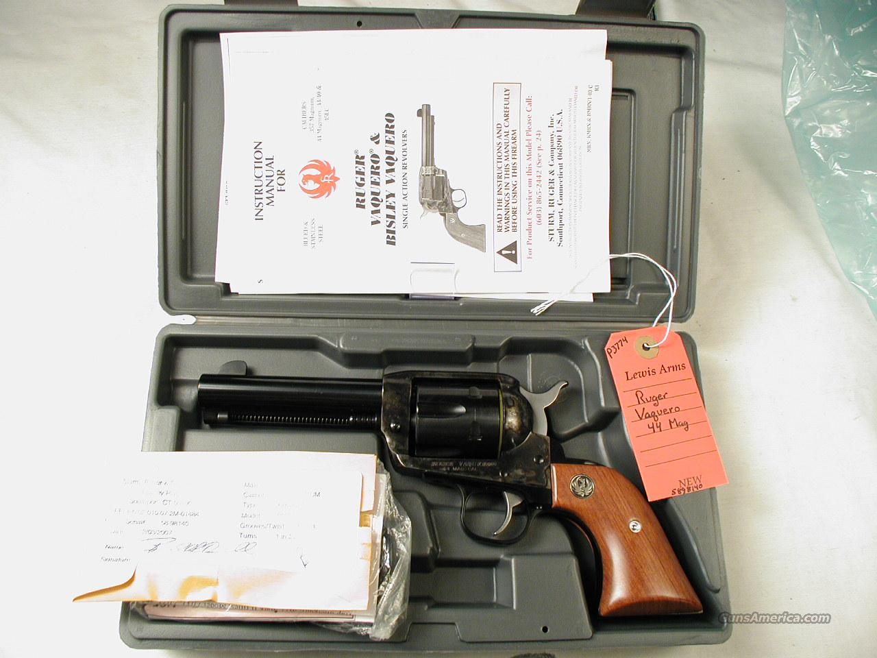 RUGER OLD STYLE VAQUERO   Guns > Pistols > Ruger Single Action Revolvers > Cowboy Action