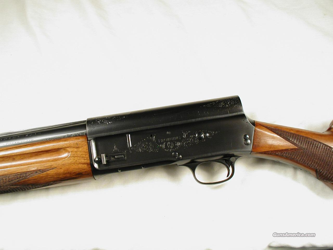 1953 BELGIUM BROWNING  Guns > Shotguns > Browning Shotguns > Autoloaders > Hunting