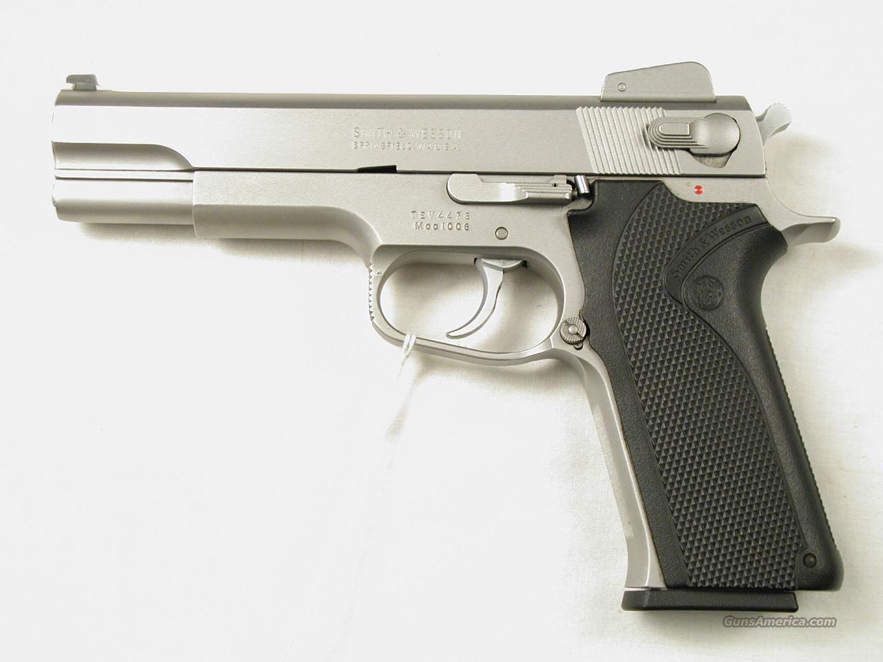 SMITH & WESSON 1006  Guns > Pistols > Smith & Wesson Pistols - Autos > Steel Frame