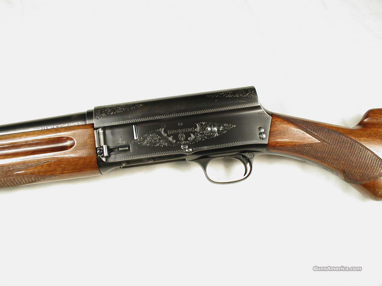 BELGIUM BROWNING MADE IN 1952 16 GAUGE A5  Guns > Shotguns > Browning Shotguns > Autoloaders > Hunting