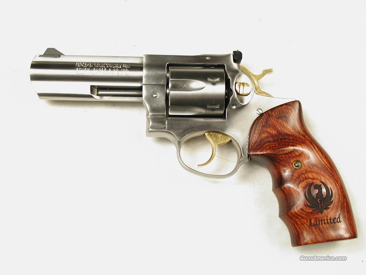 RUGER GP 100 LIMITED  Guns > Pistols > Ruger Double Action Revolver > Security Six Type