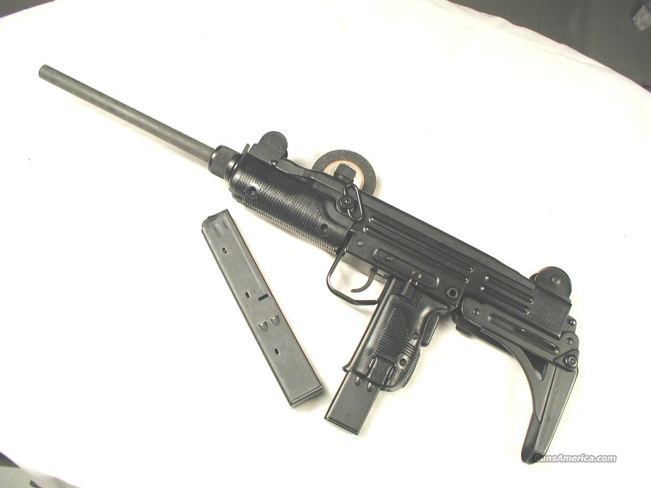 UZI 9MM MODEL B CARBINE  Guns > Rifles > IMI Rifles