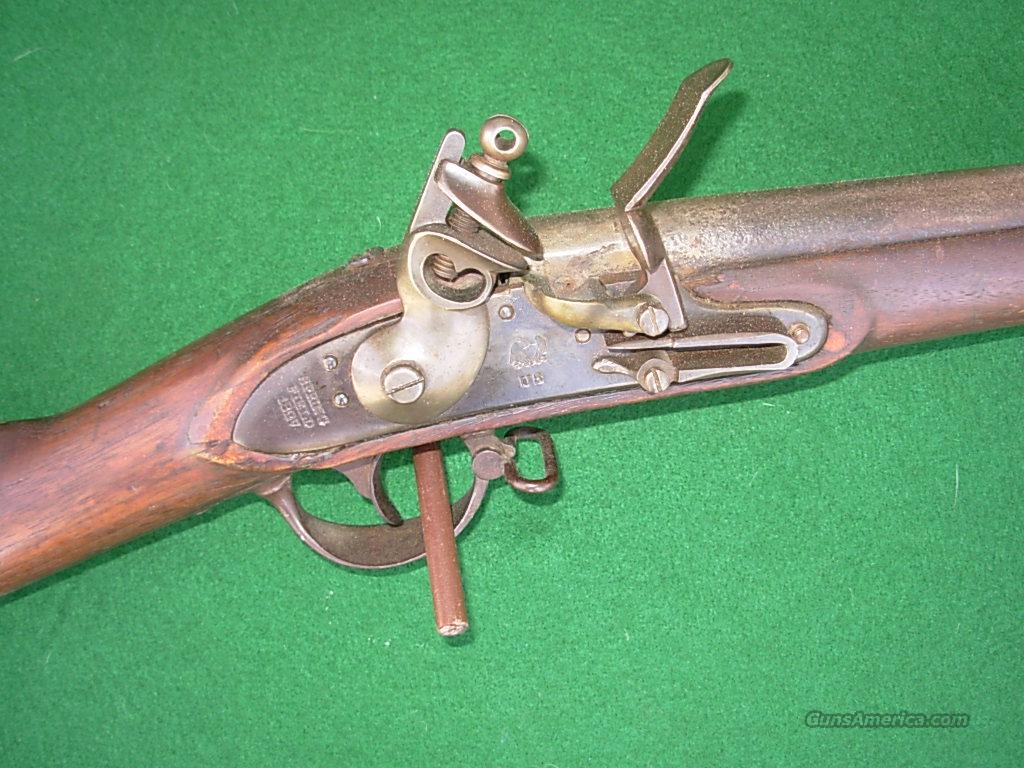 SPRINGFIELD MODEL 1816 FLINT LOCK MUSKET  Guns > Rifles > Antique (Pre-1899) Rifles - Flintlock Misc