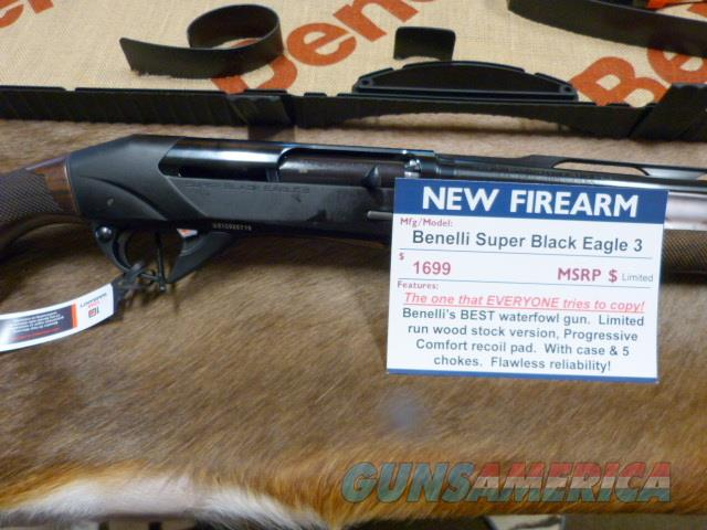 "Benelli SBE III WOOD Stock NEW 12 ga 28"" #10380  Guns > Shotguns > Benelli Shotguns > Sporting"