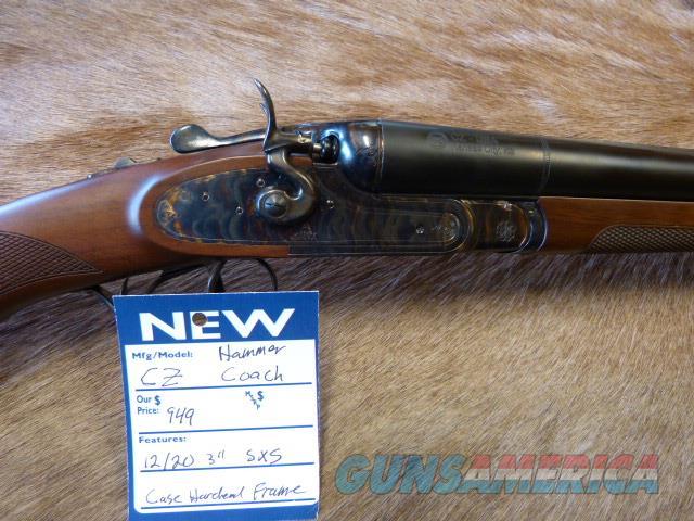 CZ Hammer Coach 12 ga NEW  Guns > Shotguns > CZ Shotguns