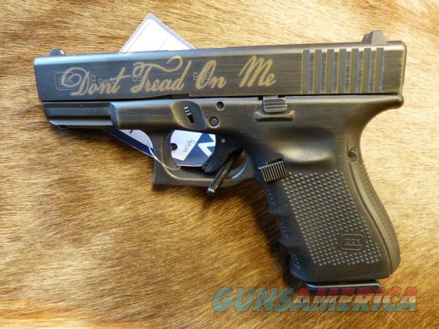 "Glock ""Don't Tread on Me"" Edition 19 Gen 4 NEW  Guns > Pistols > Glock Pistols > 19/19X"