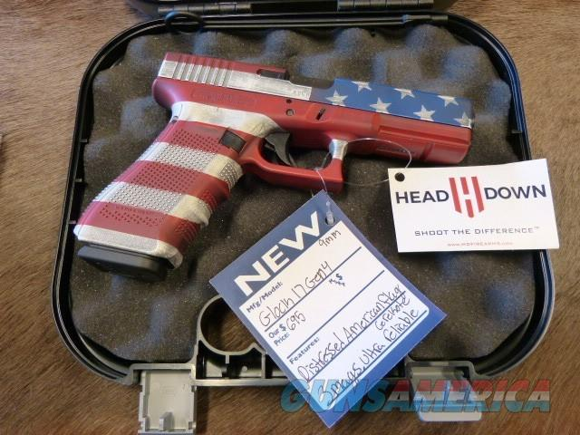 Glock 17 Gen 4 US Flag Finish!  Guns > Pistols > Glock Pistols > 17