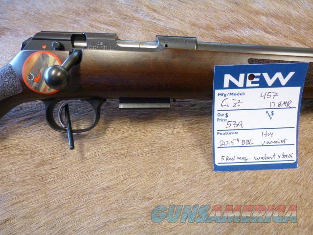 CZ 457 Varmint 17HMR - NEW  Guns > Rifles > CZ Rifles