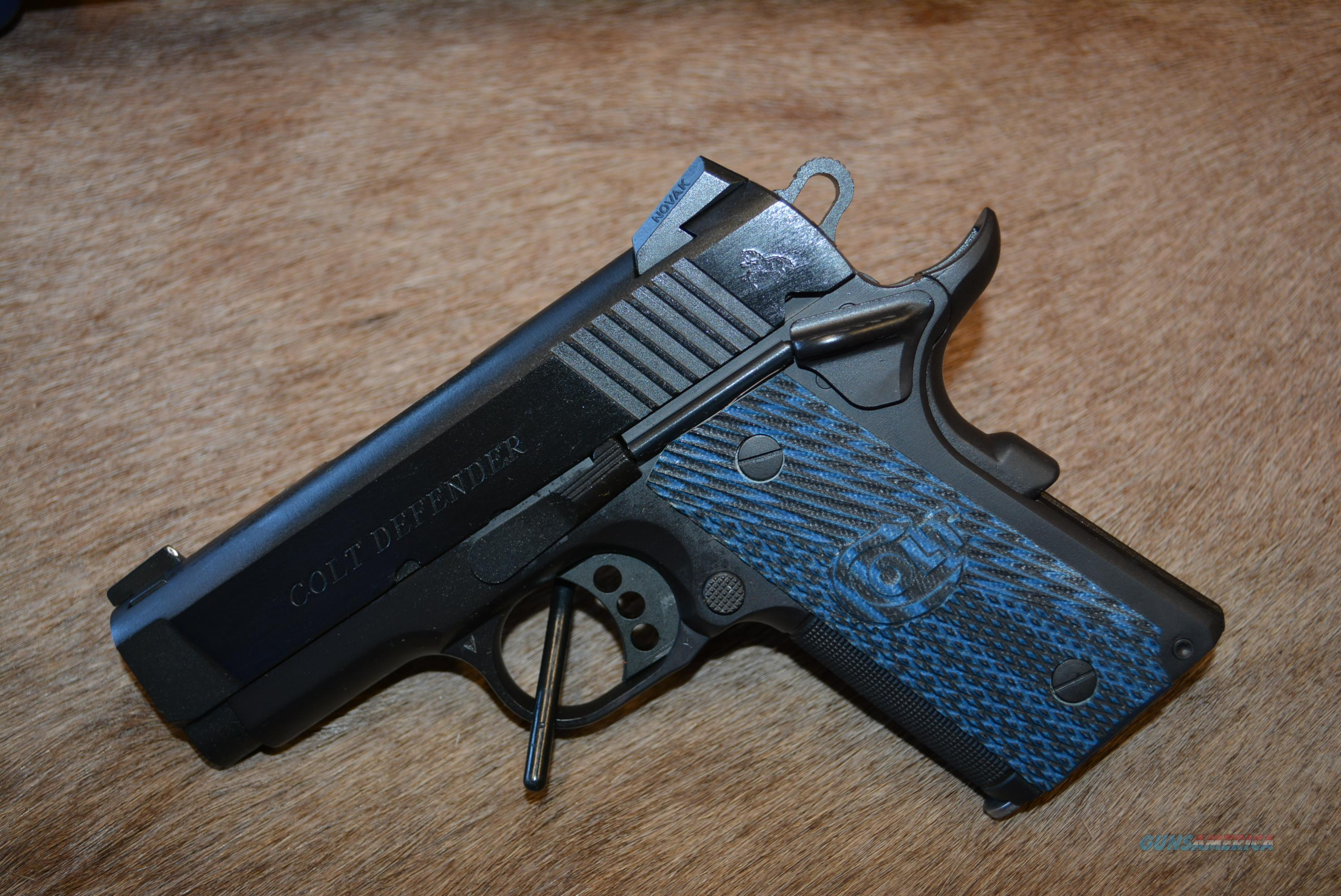Colt LW Defender 9mm Limited Edition Gun  Guns > Pistols > Colt Automatic Pistols (1911 & Var)